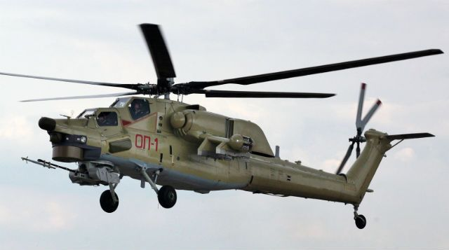 """Russia's Rostvertol has performed the first flight of a dedicated trainer version of the Mil Mi-28 attack helicopter, with the UB-model aircraft to be exhibited for the first time in the static display at this month's MAKS Moscow air show.Flown at the company's Rostov-on-Don site on 9 August, the new development features """"a dual control system that can be used in Mi-28NE pilot training, while at the same time retaining all the functionality of an attack helicopter,"""" says Russian Helicopters."""