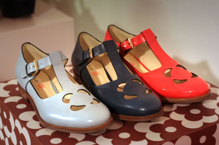 Orla Kiely + Clarks shoes SS15 preview