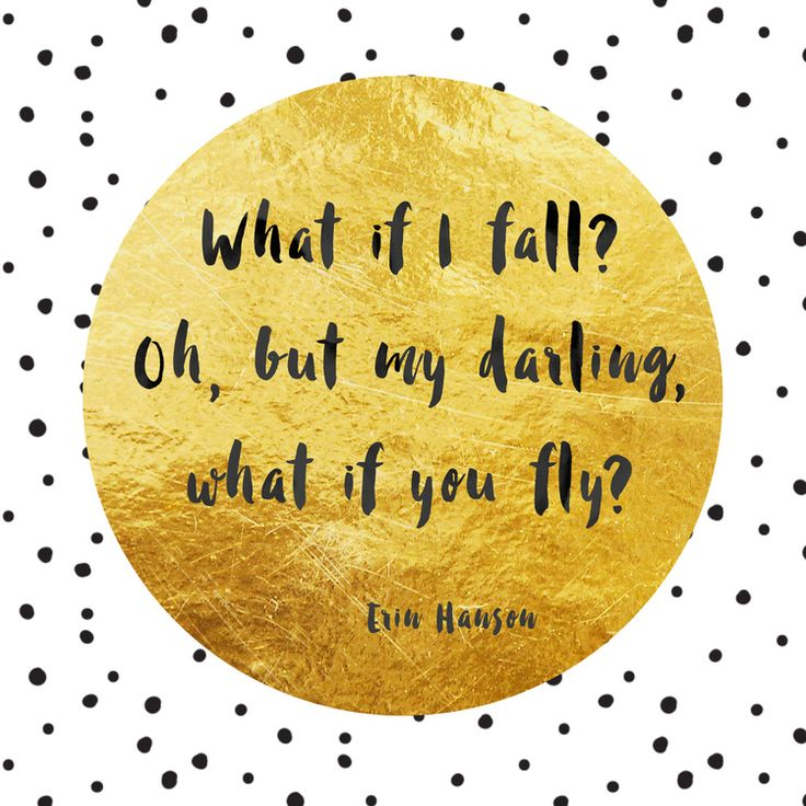 Inspirational quotes from Rules to live by - Part 2 — Beautiful Simplicity by Zoë Power  What if I fall? Oh, but my darling, what if you fly?