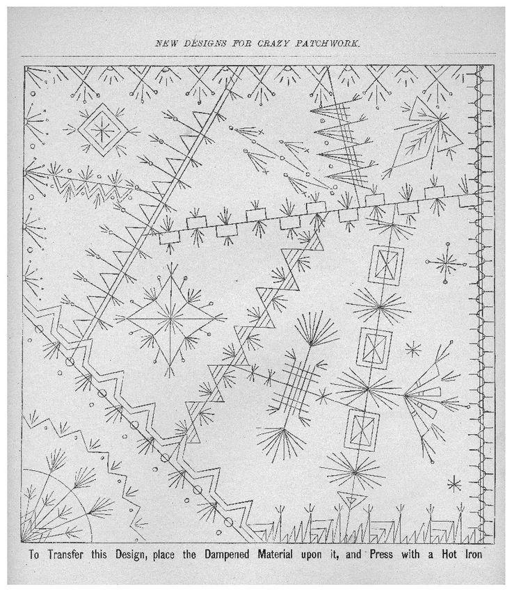 Resultado de imagen de hexagones crazy quilts pinterest