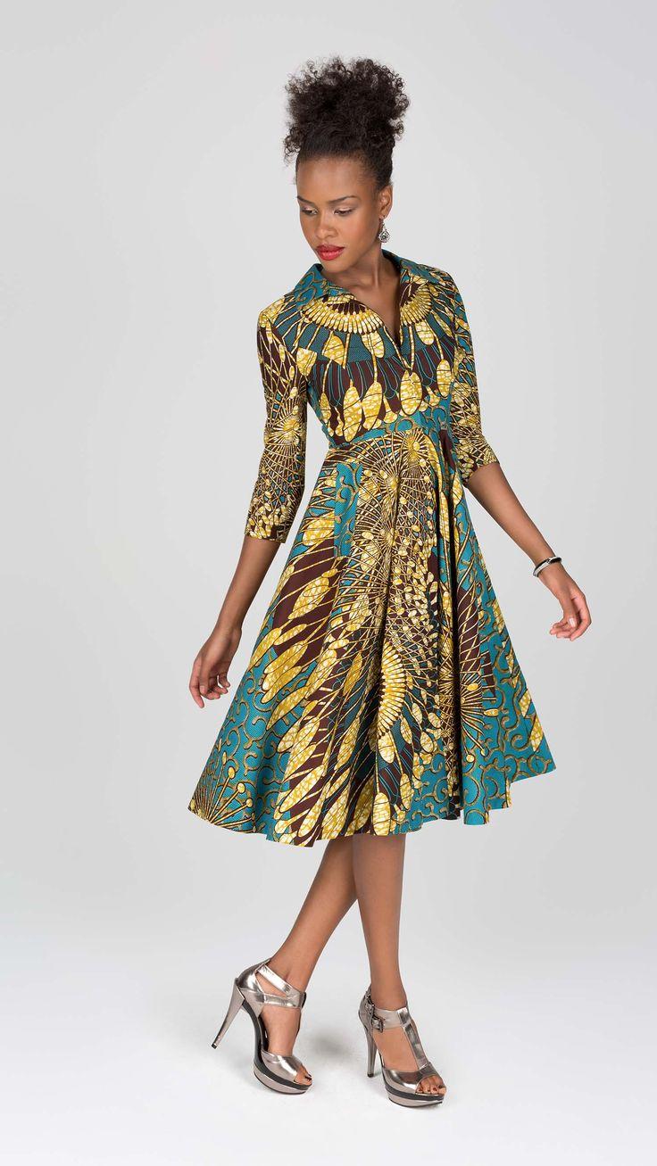 True art | Vlisco V-Inspired ~African fashion, Ankara, kitenge, African women…