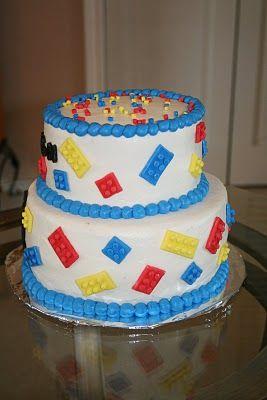 Rachel's Creative Cakes: Lego Cake
