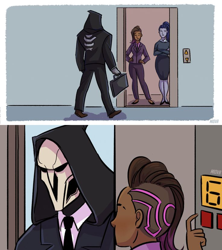 vs Reaper_Overwatch When you can't fire your employee because your company is short-handed