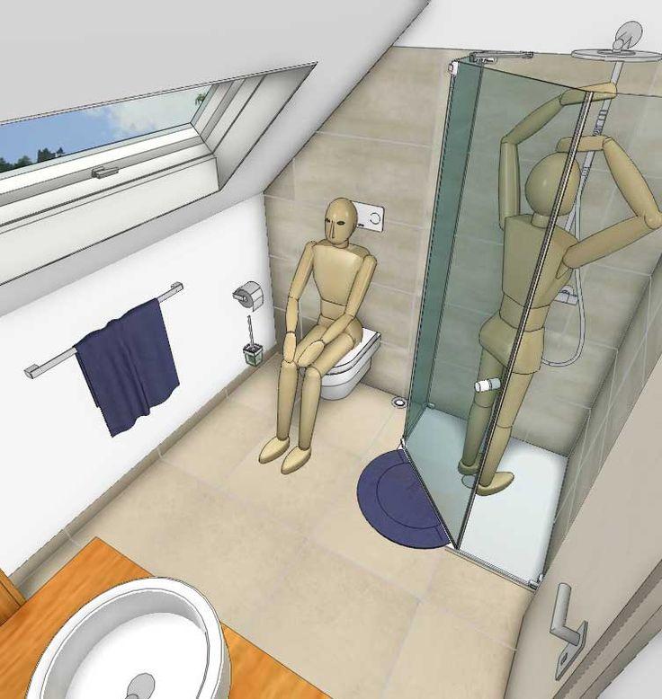 Bad mit Dachschrägen – so setzen Sie Ihre Planungswünsche um! – my lovely bath – Magazin für Bad & Spa