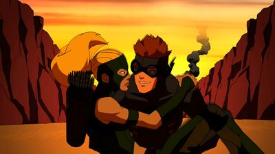 artemis and kid flash | Artemis and Kid Flash - Young Justice Wiki: The Young Justice resource ...