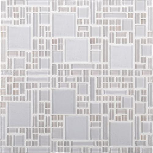 Kitchen Backsplash Cutting Tiles With Mesh Backing