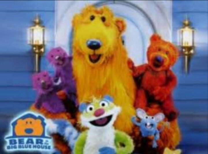 Bear in the big blue house Cartoon