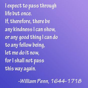 William Penn quote