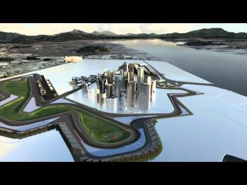 F1 - Korean GP 2011 at Yeongam - The track explained by Mark Webber
