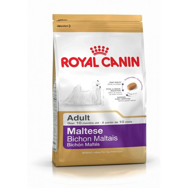 Royal Canin Maltese 24 Canine Adult Dry Dog Food 1.5kg (3.3 pounds) -- See this great image  : Dog food types