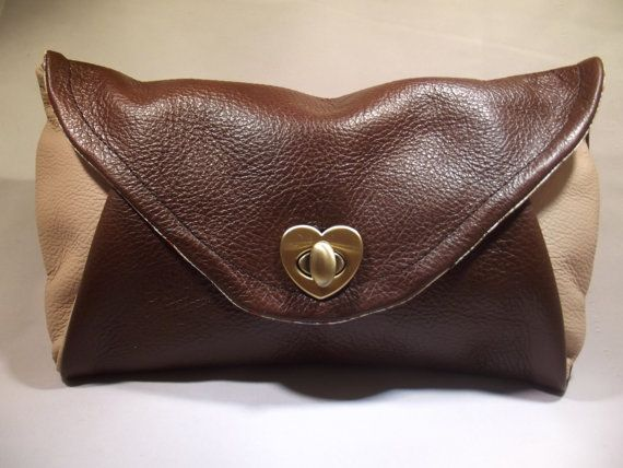 Leather Clutch Bag envelope purse leather purse by JP Purses and Bags on Etsy #jppursesandbags #etsy