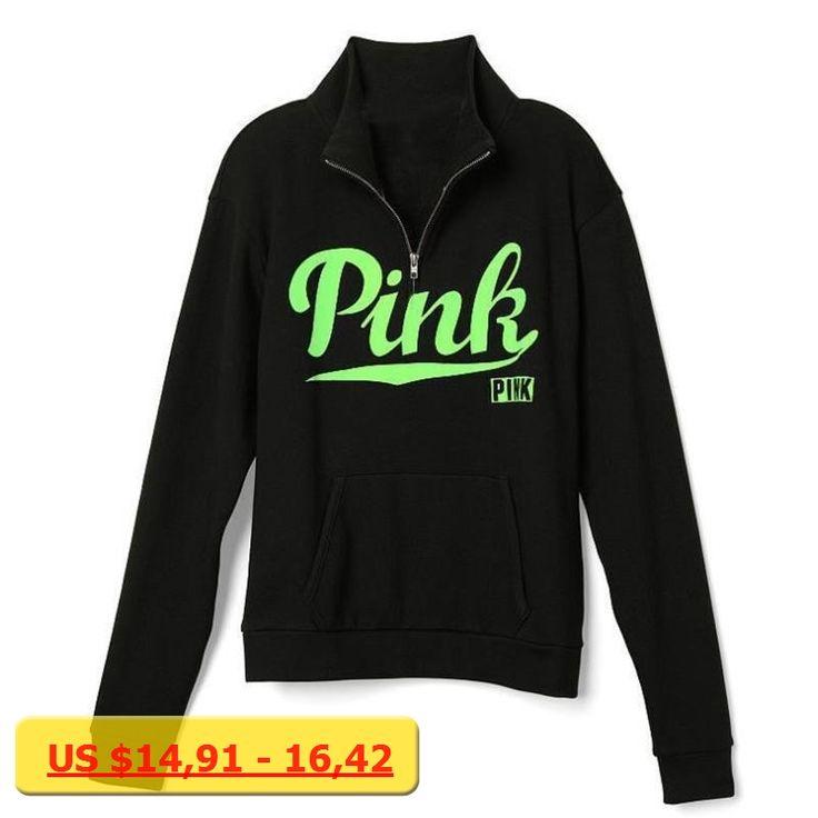 Love Pink Hoodies Sweatshirts Women Hooded Print Pink Autumn Winter Moletom Feminino Polerones Mujer Loose Hoody Tops P57 Z15