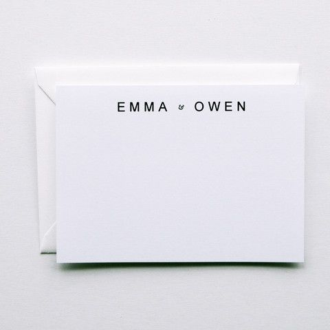 Emma - A Minimal Wedding Mailing or a lovely gift to the new couple