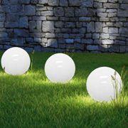 Superb LED Solar Ball Light With Ground Spike Marla Sphere Lamp Garden Ball Light Ball Decoration