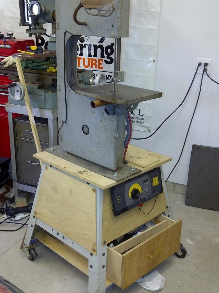 how to set up a three wheel bandsaw
