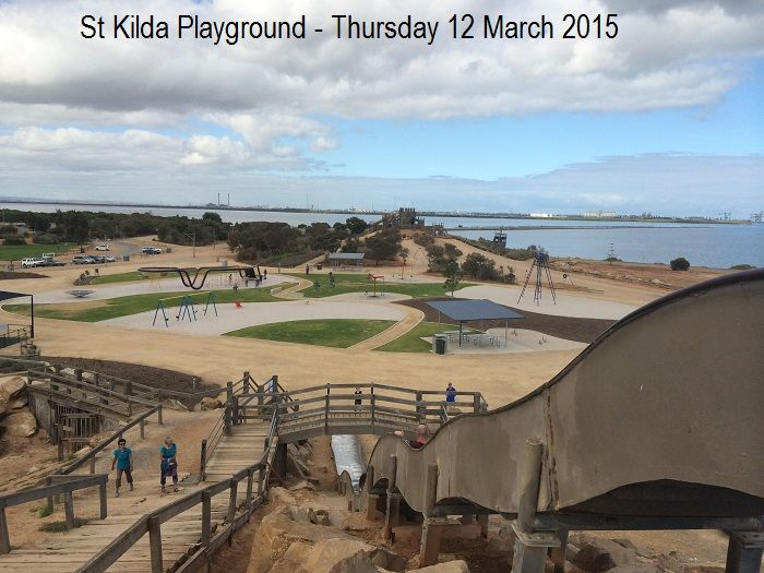 EXCURSION / St Kilda Adventure Playground / Free to attend / Limited shade / Open area /