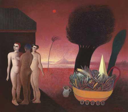 Gonzalo Cienfuegos 'Las tres Gracias con carrito', 1993