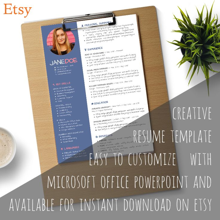 8 best Resume\/Cv Templates images on Pinterest Resume cv, Fonts - microsoft office resume templates 2013