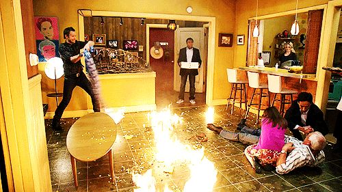 19 TV Shows Summed Up In One Picture because honestly that's it, that's the show. #Community