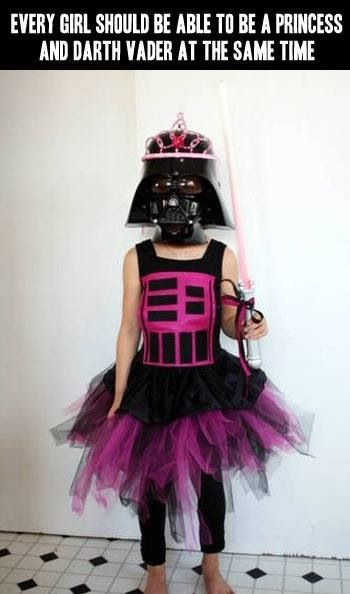 Princess Darth! Just thought this was funny