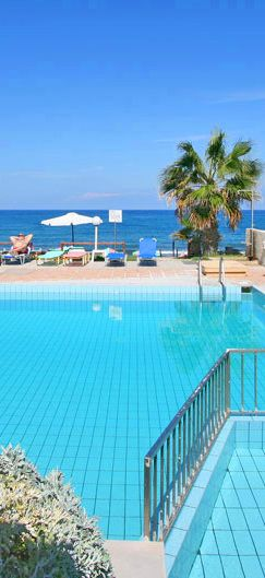 Seafront Apartments in Adele, Rethymno, Crete