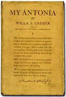 an analysis of the themes of willa cathers novel my antonia Antonia by willa cather my antonia: an in depth analysis of immigration in the 1800s the novel my antonia by the author willa cather  themes that cather.