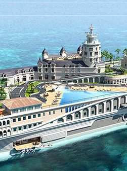 ♂ Luxury Yacht Inspired By The Streets Of Monaco