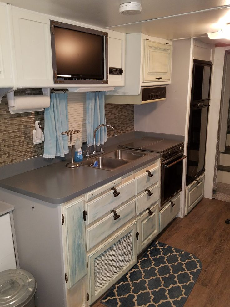 Camper Kitchen Cabinets
