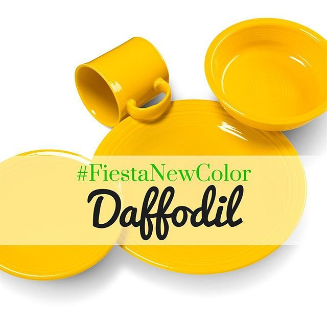 And the #fiestanewcolor is.... Daffodil!