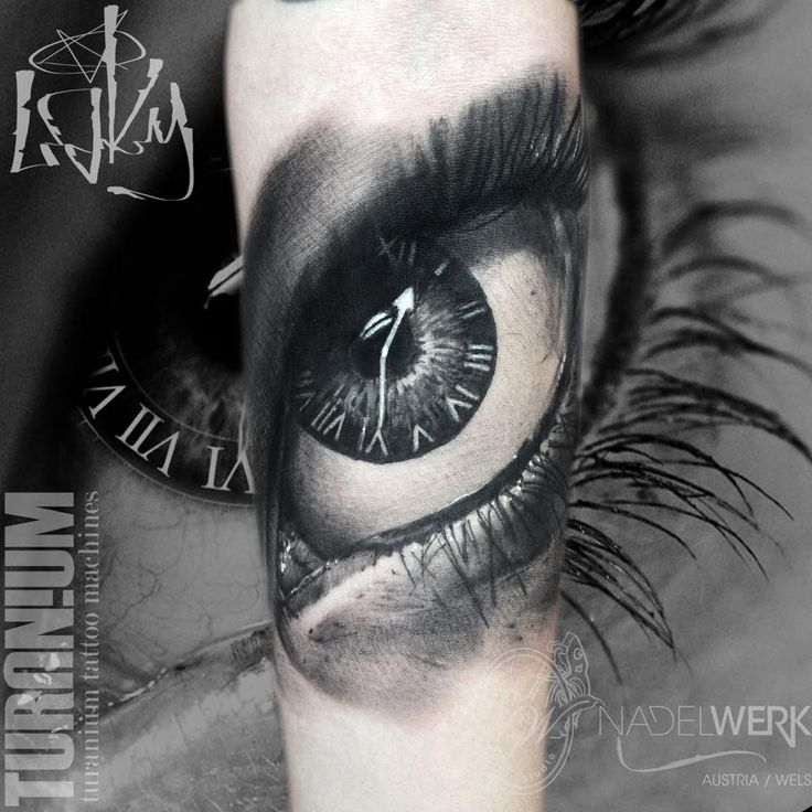 Eye And Multiple Clock Tattoo: 186 Best Tattoo - Eyes Images On Pinterest