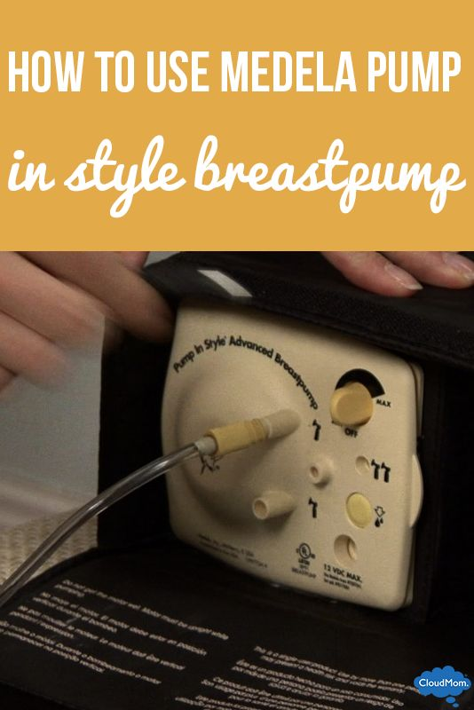The Medela Pump In Style breastpump is perfect for any working mom that is looking to breastfeed at work.