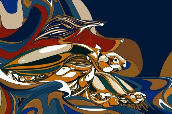 Los artistas Gerardo Cloquell y Leandro Maseda crearon un mural alusivo al tinglar (especie en extinción) y los pelícanos pardos, en la fachada del Antiguo Hospital San Carlos, en la Avenida Ponce de León #1822.