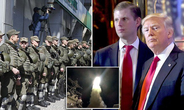 Eric Trump claims his father is not intimidated by Putin