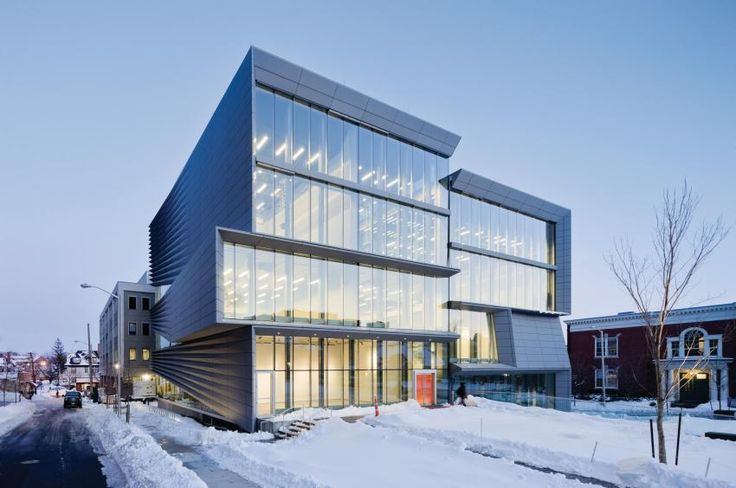 Brown University Granoff Center for Creative Arts, Providence Rhode Island (USA) by Diller Scofidio and Renfro The project won the Honor Award of Excellence in Architecture from the US Society of College and University Planners. The project is LEED Gold rated.#QuartzZinc#Architecture#USA#University#LEED#Alcoa#Façade#Composite#Cladding