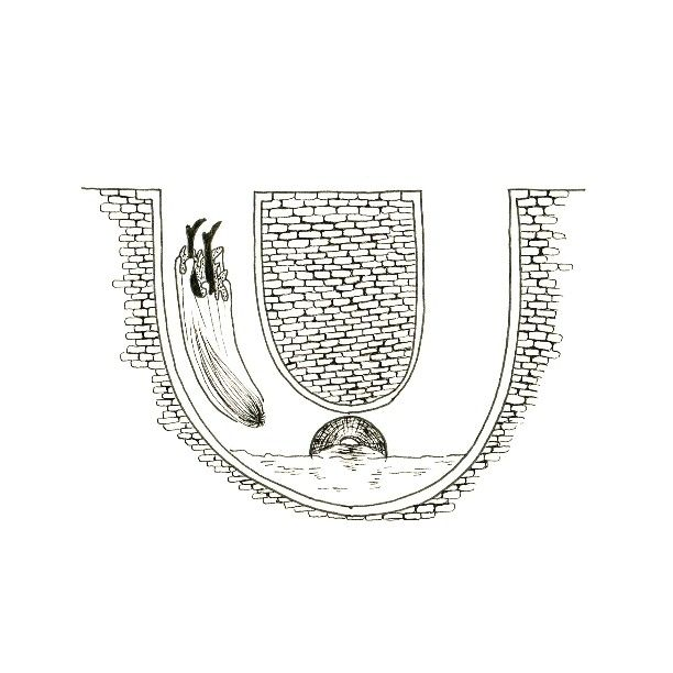 U is for Una who slipped down a drain. – #36daysoftype #36daysoftype_u #36days_u #36daysoftype21 #lettering #blackwork #blackink #letters #typespire #alphabet #illustration #design #drawing #draw...