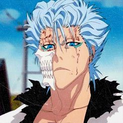 Hey look guys, it's my favorite gif. :D What a lovely rape face you have there Grimmjow...AGAIN.