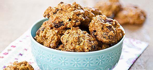 Μπισκότα με ταχίνι, μέλι και βρώμη του Άκη Πετρετζίκη - Μπαχαροπωλείο