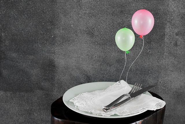 ミニ風船のナプキンリング | ベンジャミンズパーティー