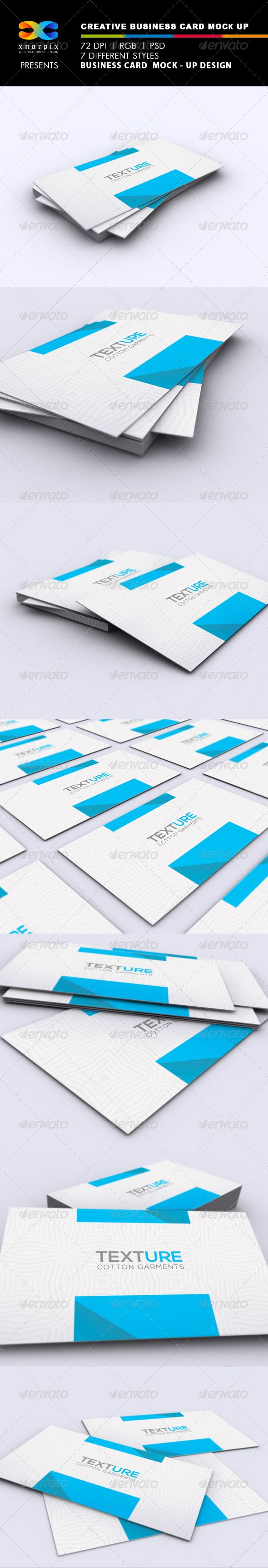 717 best business card mockup images on pinterest