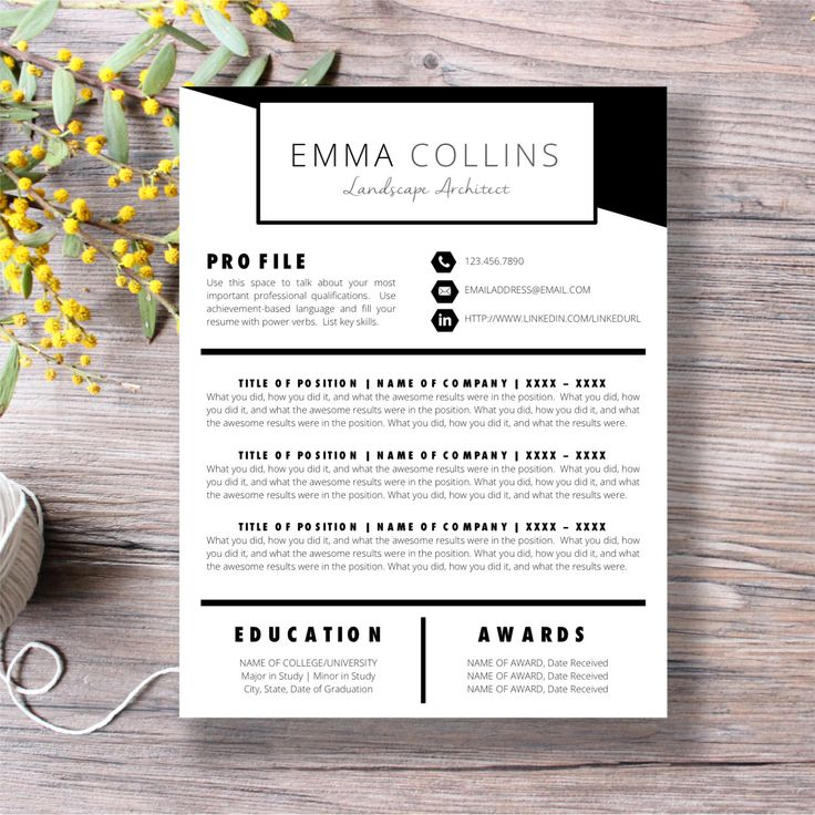 10 best Etsy Favorites images on Pinterest Resume cover letters - microsoft word mac resume template