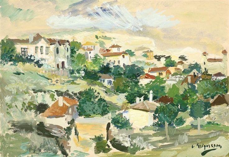 Lucian Grigorescu » Dealuri la balcic