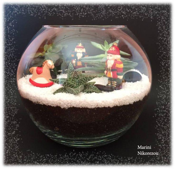 Christmas Toys Terrarium