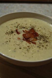 Mandy kertje és konyhája: Majorannás krumplikrémleves
