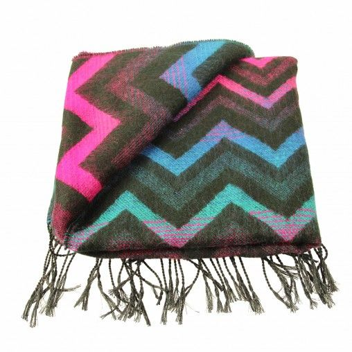 Colourful Scarf by Sacha