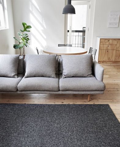 Armadillo and Co Sierra Weave - Charcoal Rug