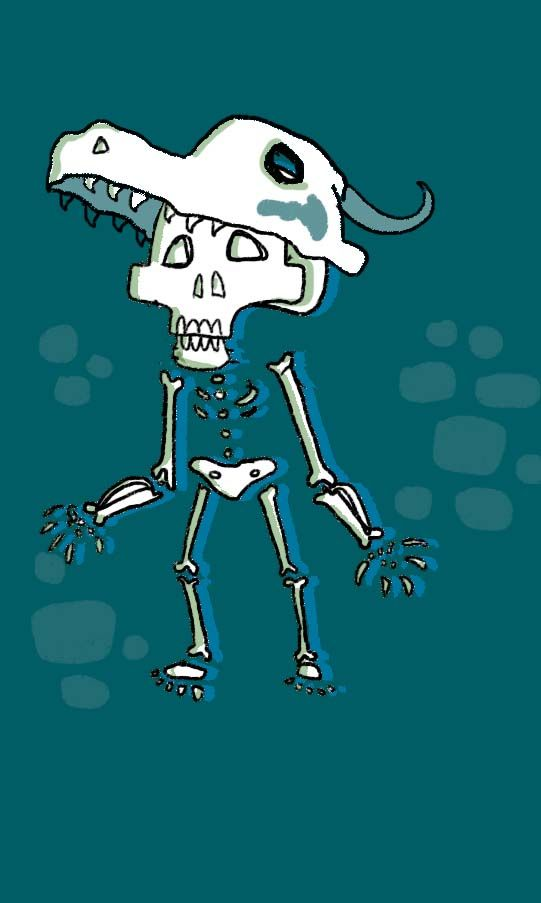 Skeleton Youngster sketchup :3