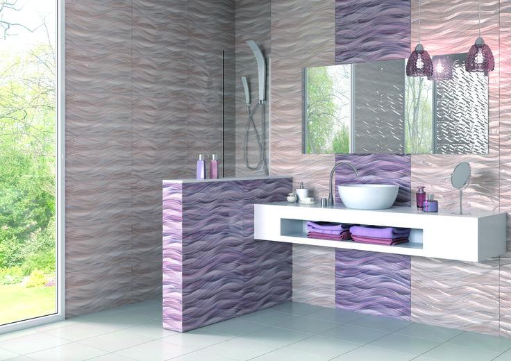 Les 45 meilleures images propos de salle de bain mauve for Salle de bain mauve et blanc