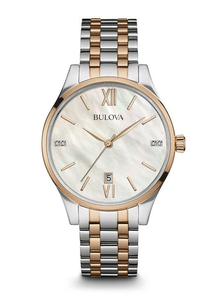 Bulova 98P150 Women's Diamond Watch | Bulova