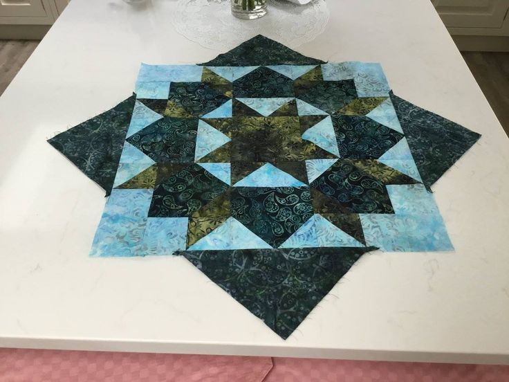 A lovely swoon block created by our customer Pat!