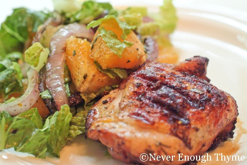 Orange-Rosemary Grilled Chicken | Never Enough Thyme - Recipes and ...